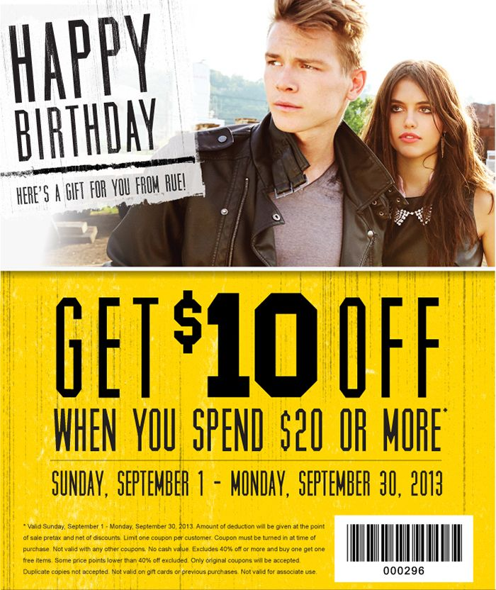 rue21 10 off 20 printable coupon