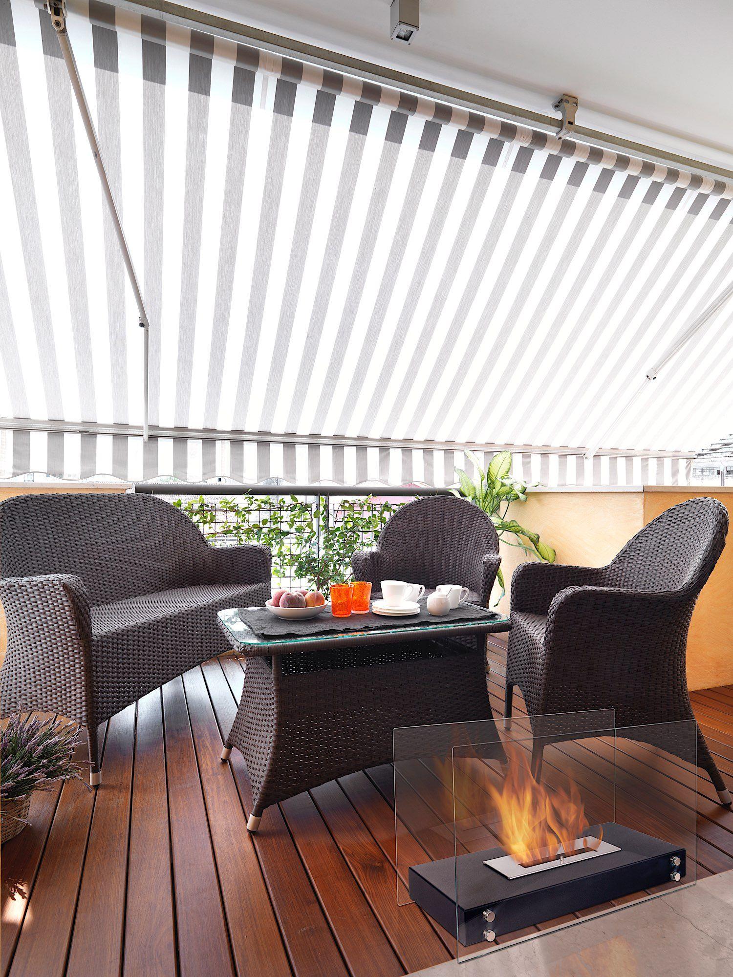 Ethanol Kamin Roma Auf Terrasse Mit Wunderschönem Holzboden   U003e Zum Kamin:  Http: