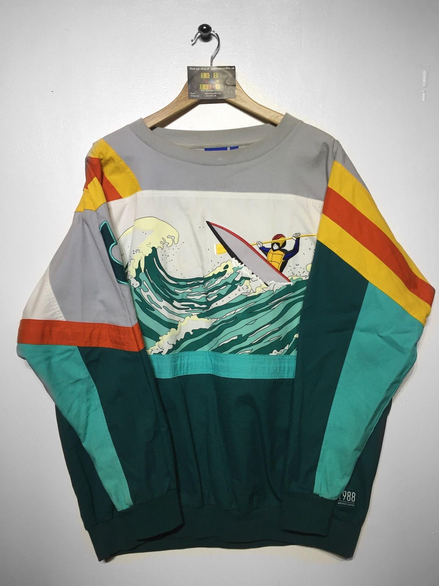 Adidas Sailing crew sweatshirt Medium(but fits oversized