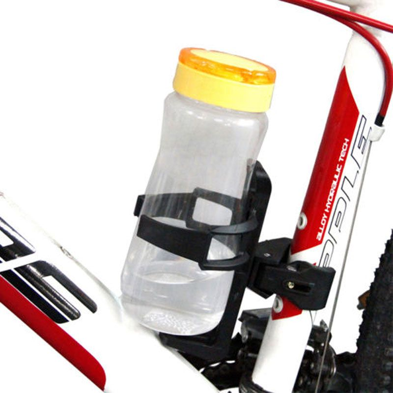 "Outdoor Water Bottle Holder bicycle drink holder ABS motorcycle cup holder fit 2"" handle bar For cups, cans, bottles"