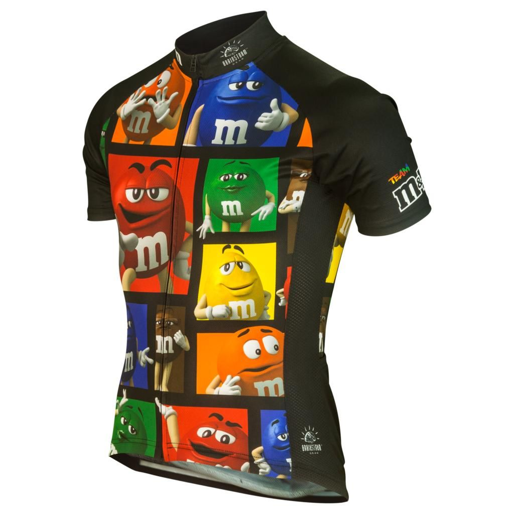 M/&M Mens Cycling Jerseys Bike Short Shirts Bicycle Tops MTB Shirt Team Clothing