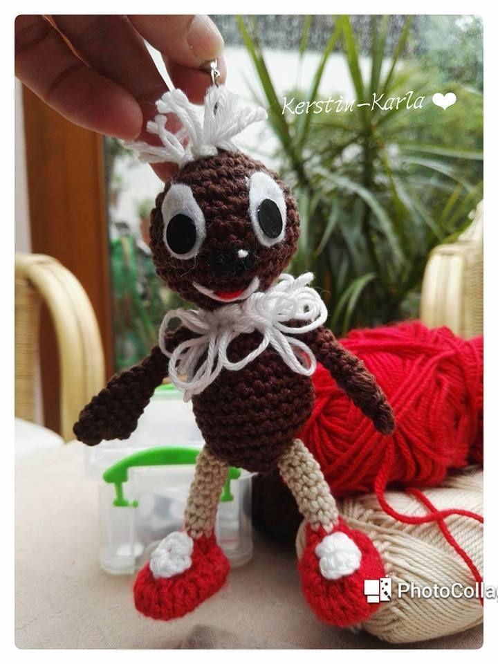 Kleiner Kobold als Baumler | Amigurumi | Pinterest | Häckeln ...