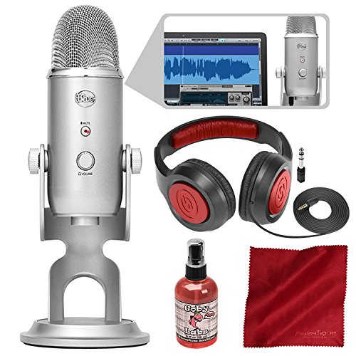 Blue Microphones Yeti Studio Usb Microphone All In One Professional Recording Sale Instrumentstogo Com Blue Microphones Usb Microphone Microphone
