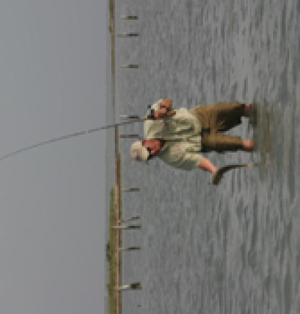 Fall Fishing in Texas. this is my uncle William, how cool is that?!?