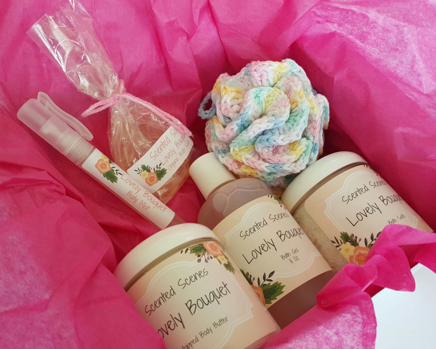 Bath and body gift box teacher appreciationnew mom relaxing gift bath gift box organic spa beauty gift mothers day gift idea easter gift negle Choice Image