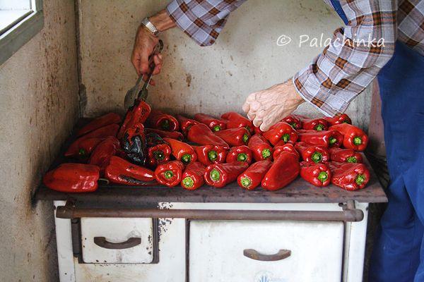 Making Traditional Ajvar