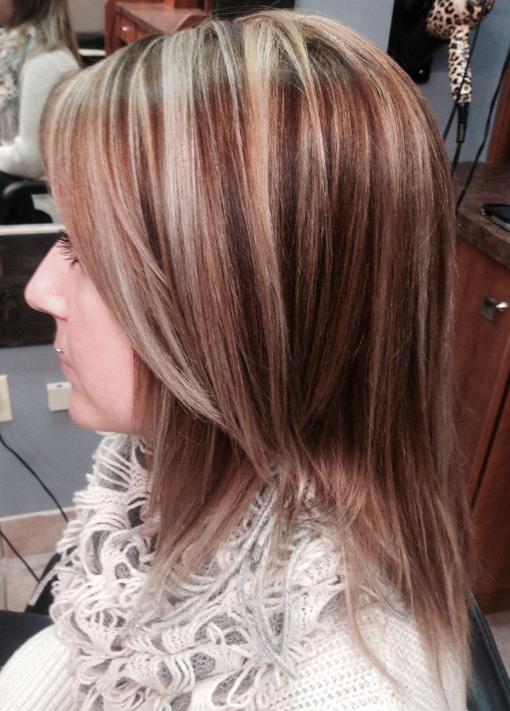 Highlights Lowlights Long Hair Straight Hair Easy Style Pretty Color