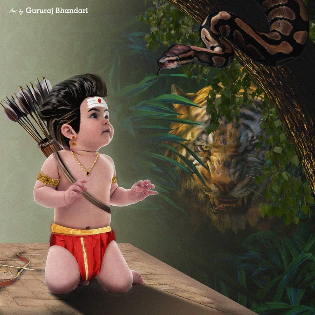 1 729 Likes 11 Comments Gururaj Bhandari Artbygurudesign On Instagram Follow Me Artbygurudesign Tigerking Do You Know Who Is Behind Ayyappa Swamy