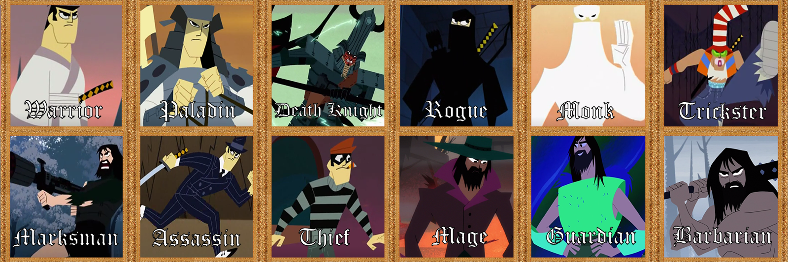 [Samurai Jack] CHOOSE YOUR CLASS!