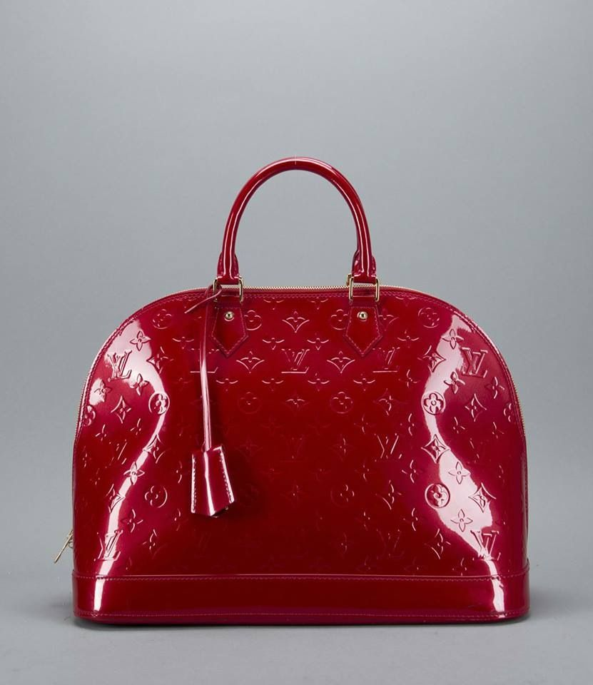 Red Patent Leather Louis Vuitton