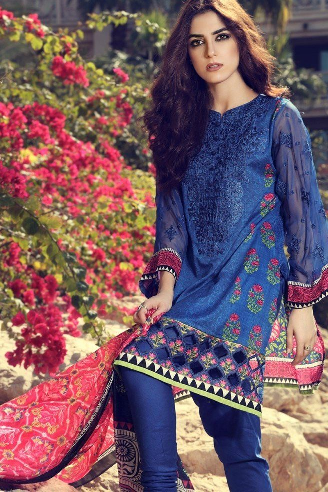 Maria B Eid Collection 2017 Outfits for Cute Girls & Women