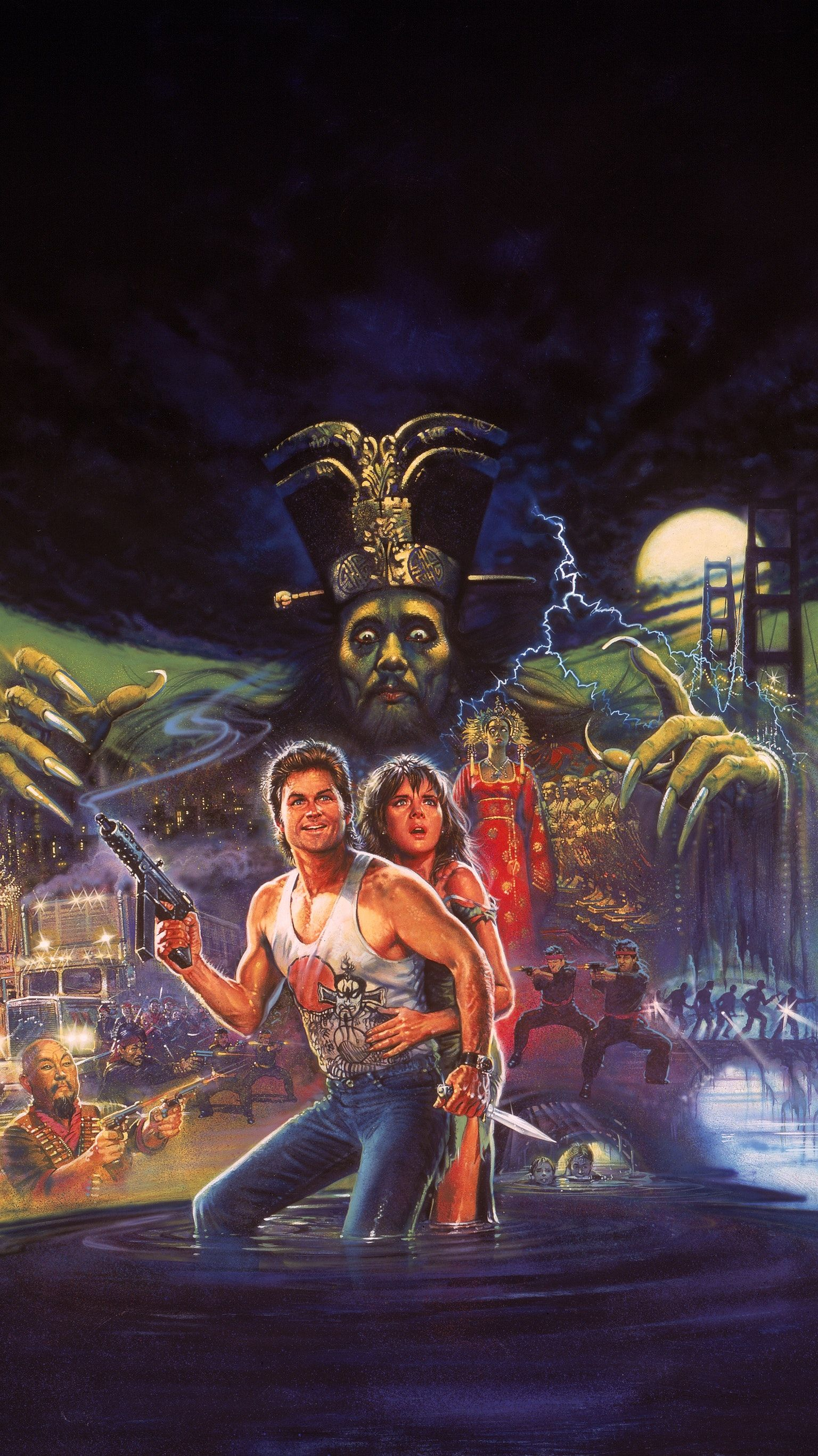Big Trouble In Little China 1986 Phone Wallpaper In 2020 Movie