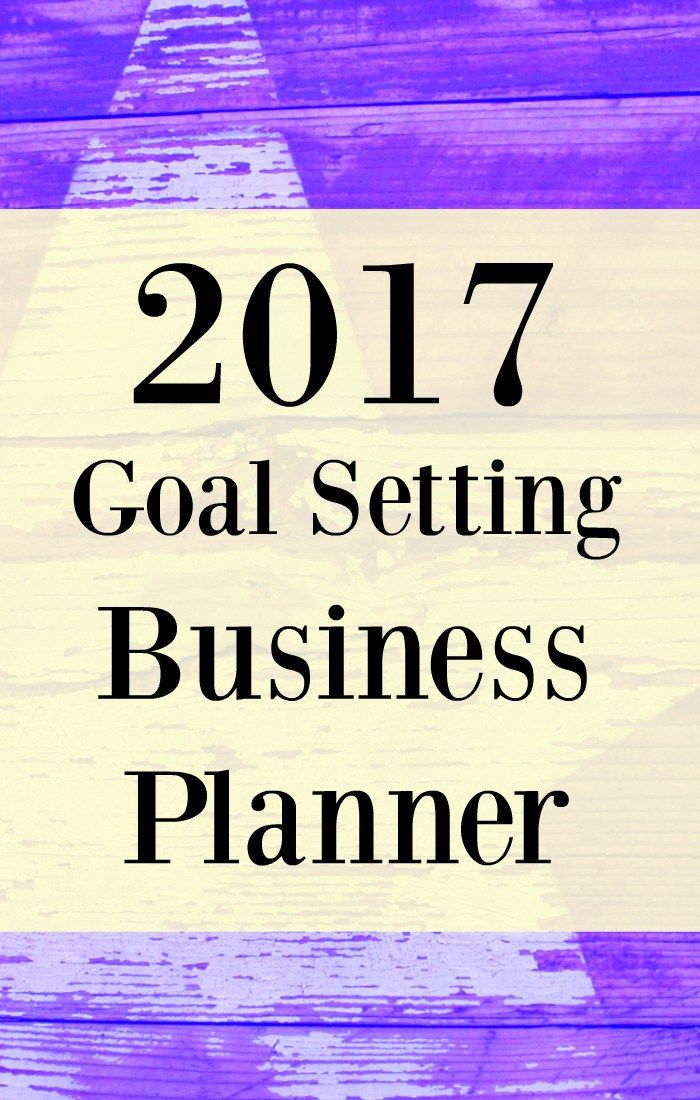 2017 business planner goal setting and a little law of attraction