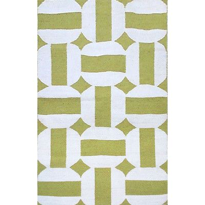 Liora Manne Assisi Green Circles Indoor Outdoor Area Rug Flat Weave Rug Rugs Area Rugs