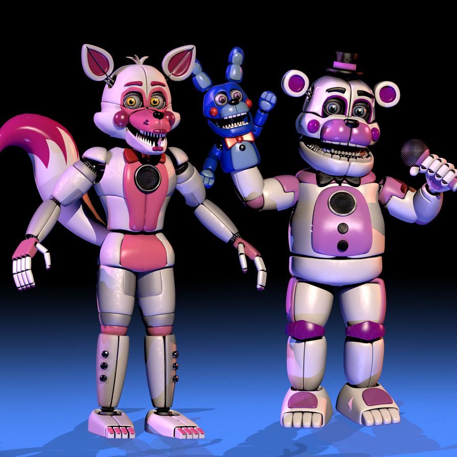 Funtime Foxy And Funtime Freddy Fnaf Sl By Chuizaproductions On Deviantart Funtime Foxy Fnaf Characters Fnaf