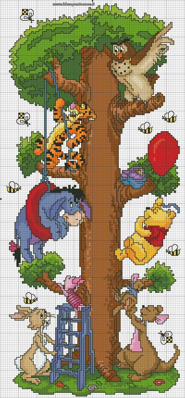 Schemi Punto Croce Disney Disney Cross Stitch Kortteja