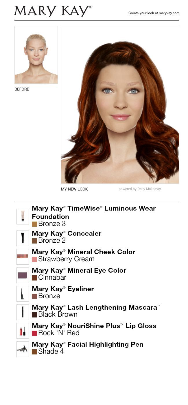 Hairstyle Simulator I Just Got A Great New Look Using The Free Mary Kay® Virtual