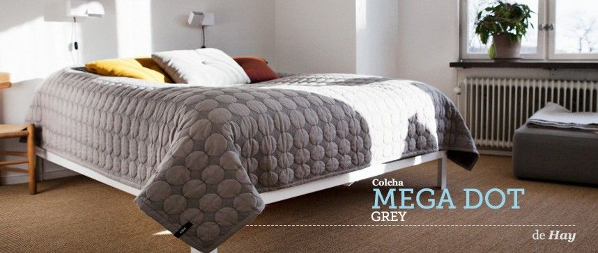 mega dot bed cover grijs van hay winter pinterest. Black Bedroom Furniture Sets. Home Design Ideas