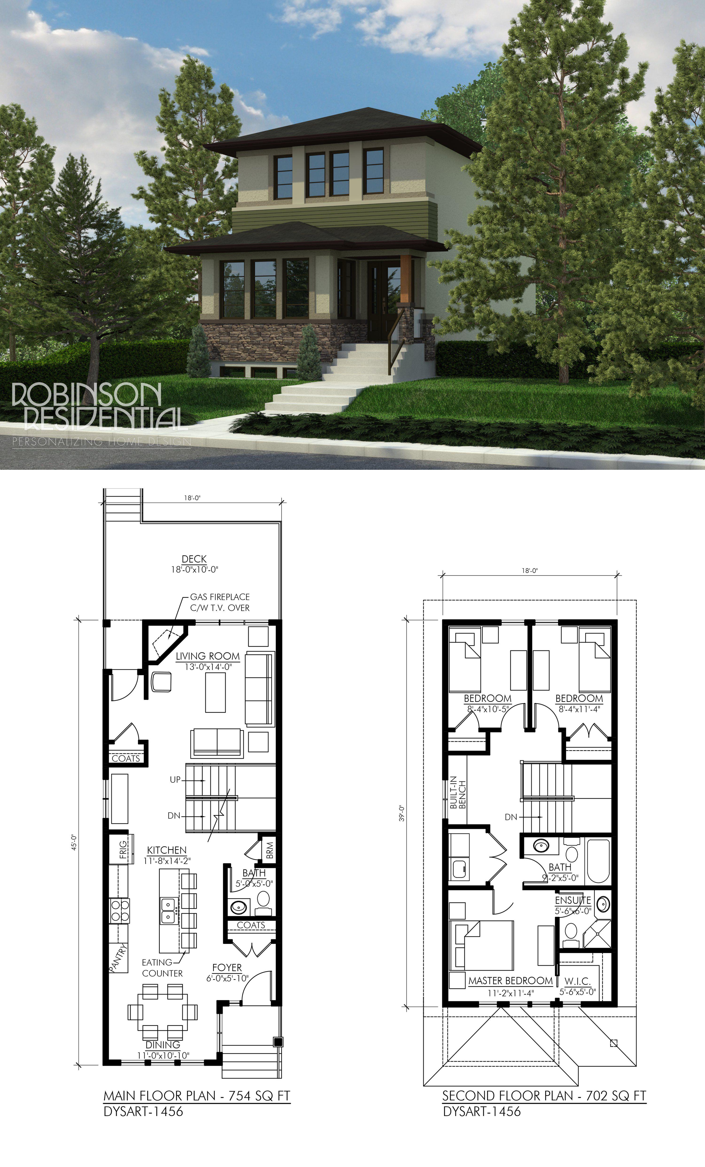 Duplex house plans modern