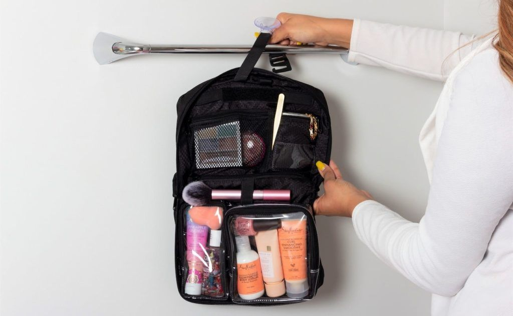 The Vacationist Compact Functional Toiletry Bag Helps You Travel Smarter With Numerous Convenient Features Traveling By Yourself Toiletry Bag Toiletries