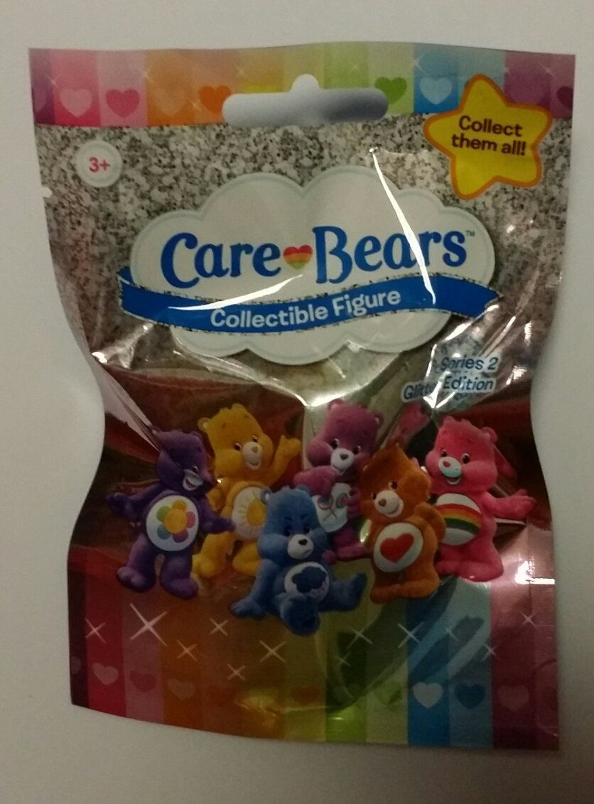 Lot Of 24 Care Bears Blind Bag Packs Of Collectible
