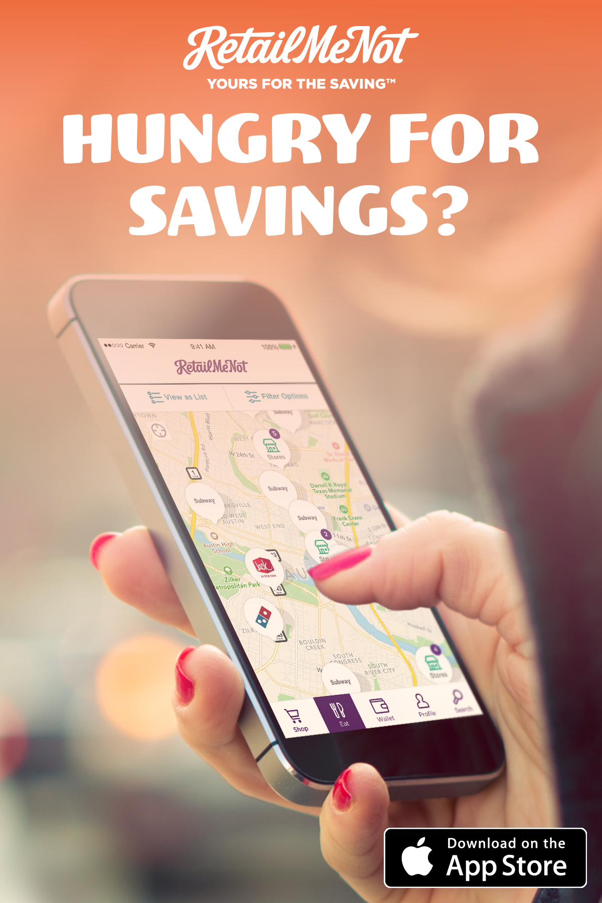 Download the free RetailMeNot app and never forget another coupon again.  Whether you re f2bb2a1b0c