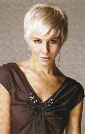 Short and Sassy Haircuts | Short Sleek Sassy Blonde Pixie Haircut ...