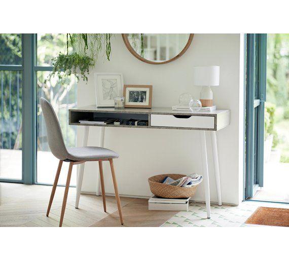 07de9c94fe66 Buy Argos Home Concrete Style Office Desk | Office desks | Argos ...