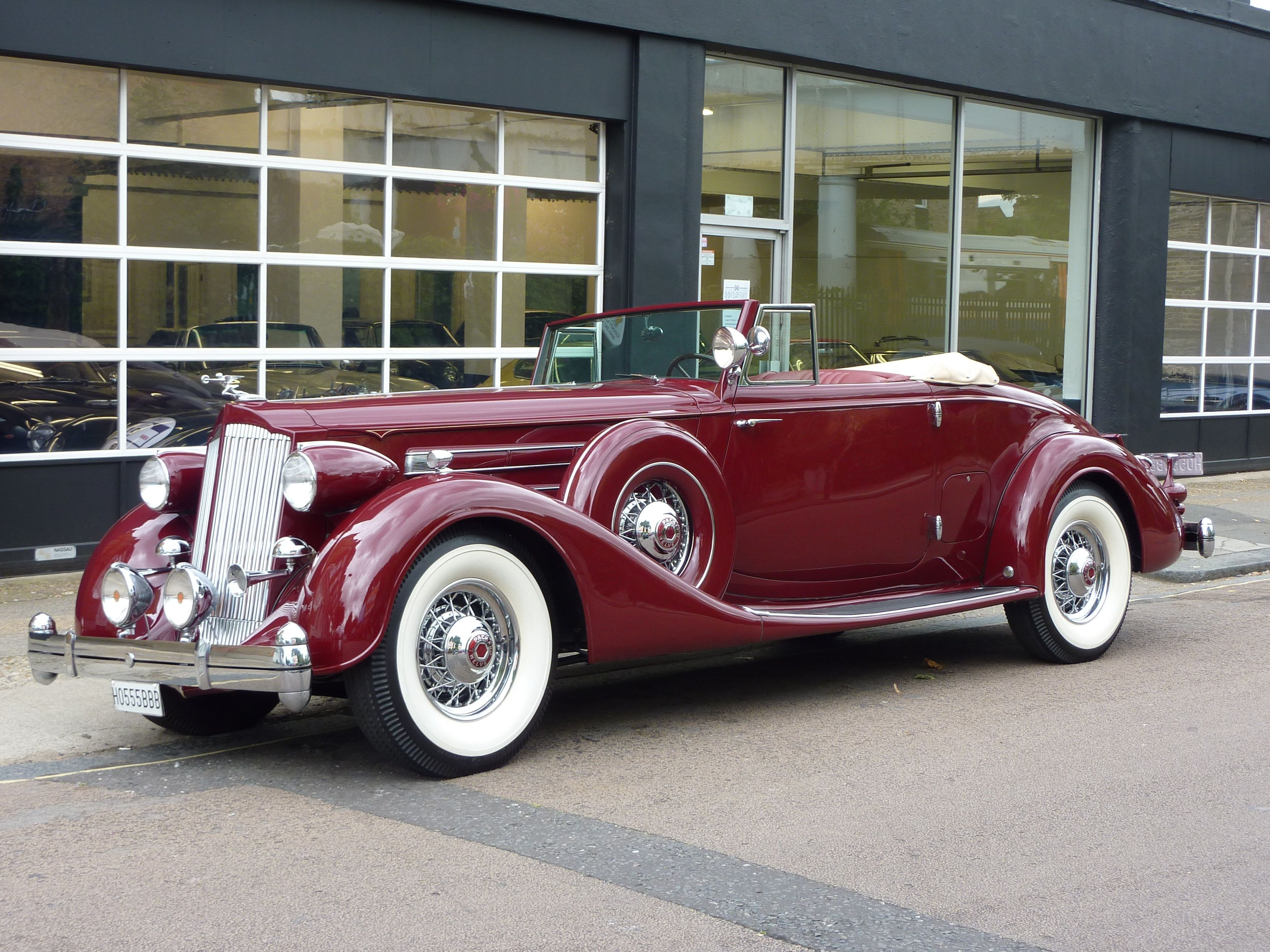 Packard V12 Roadster Lhd Sold For Sale At Dd Classics Fancy Cars Classic Cars Fantasy Cars