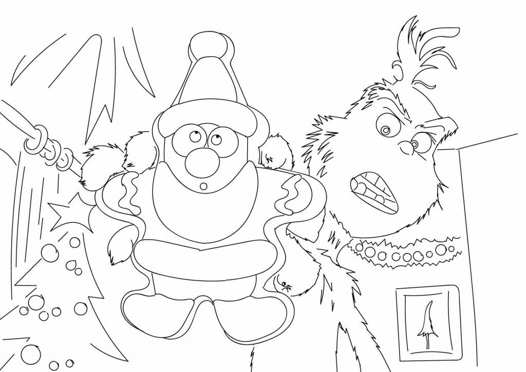 The Grinch Coloring Pages Free Download For Coloring Sheets With The Grinch His Doggy And Cindy Lou W Grinch Coloring Pages Coloring Pages Colorful Drawings