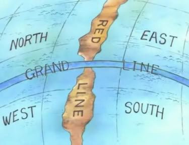 Map Of One Piece World One Piece Anime Mapa