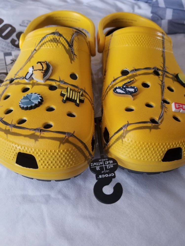 Post Malone Barbed Wire: Post Malone X Crocs Barbed Wire Clog (Limited Edition