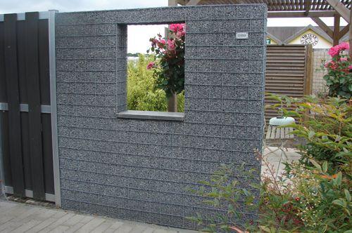 Gabione Splittkorb Fenster-089800