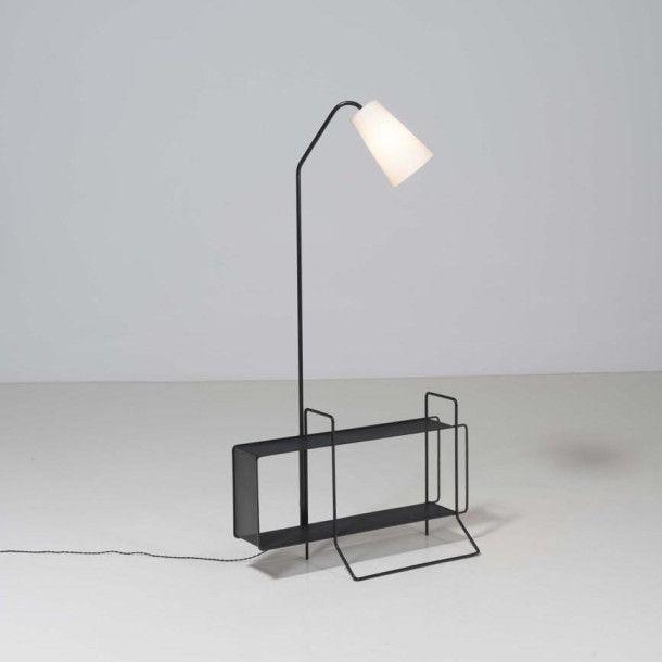 LAMPADAIRE DE MATHIEU MATEGOT – 1955 | Design 50\'s ...