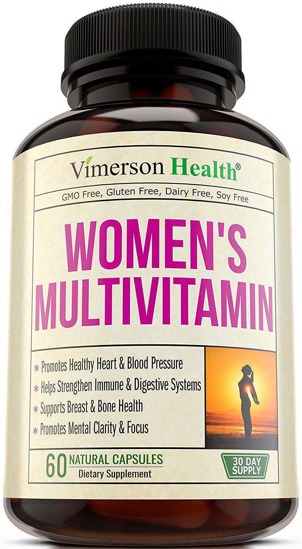 Women's Daily Multivitamin Supplement Biotin, Vitamins A