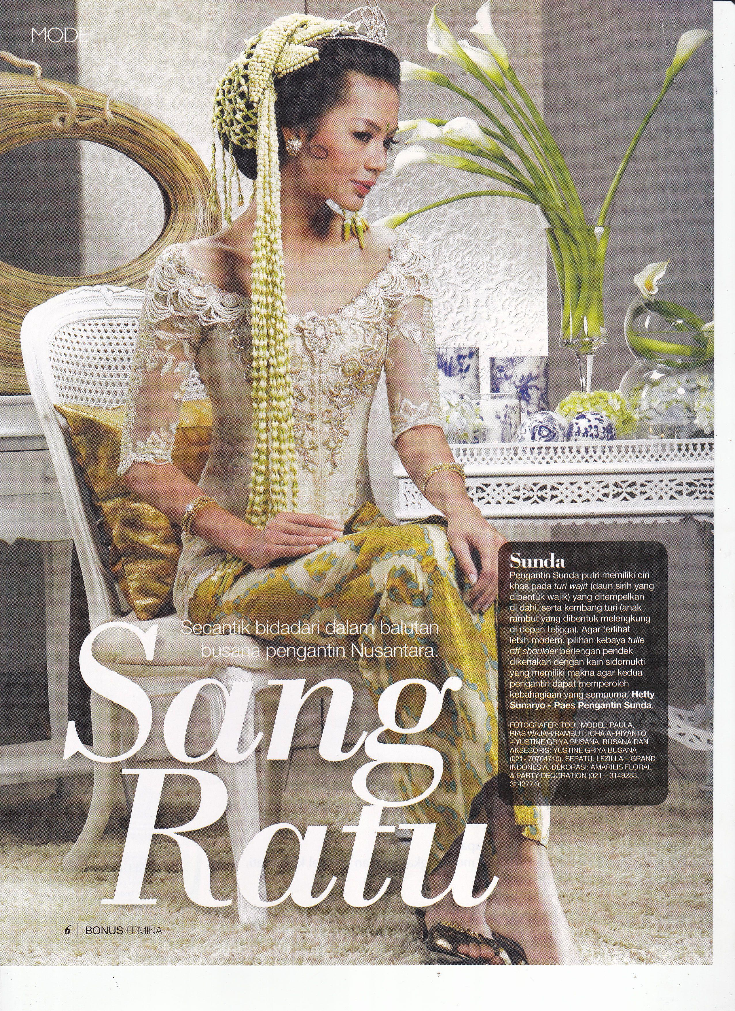 Paula Verhoeven In Ferry Sunarto Kebaya Kebayamodern Indonesia