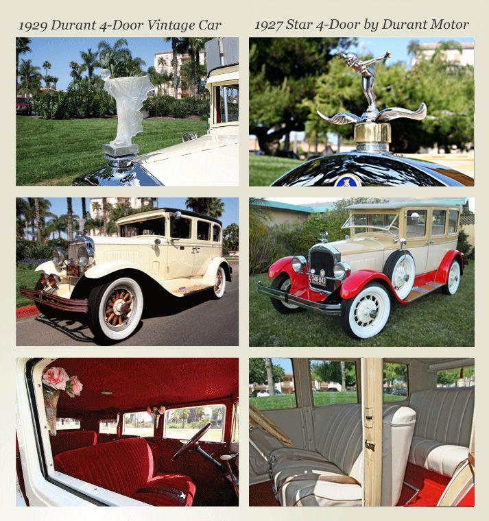 San Diego Antique Car Chauffeur Company Wedding Classic Car ...