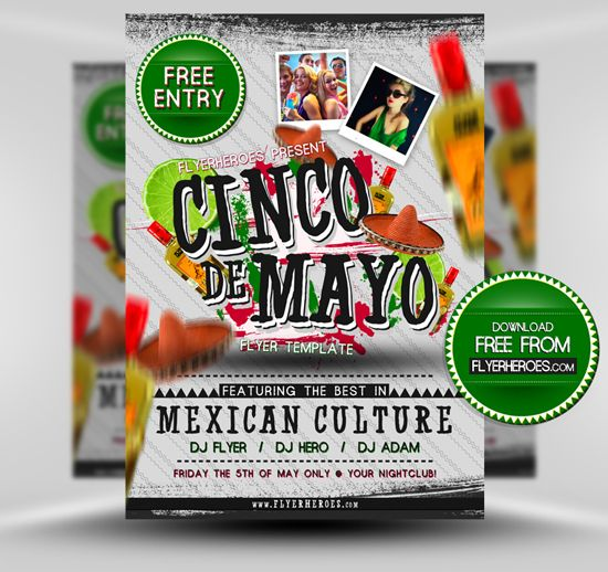 free flyer friday free cinco de mayo flyer template resurs for