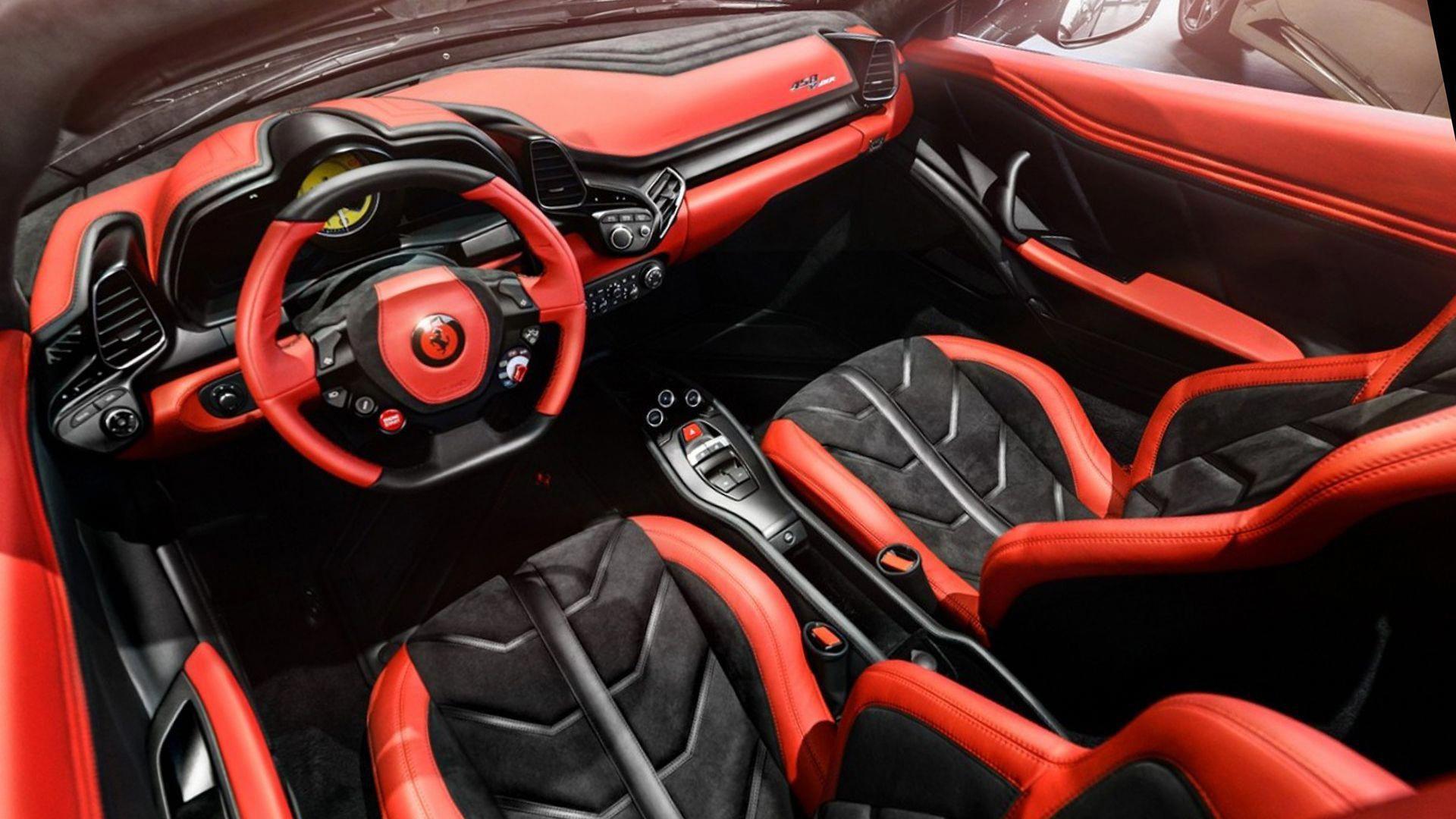 New 2019 Ferrari 458 Speciale A Interior Design ferrari458