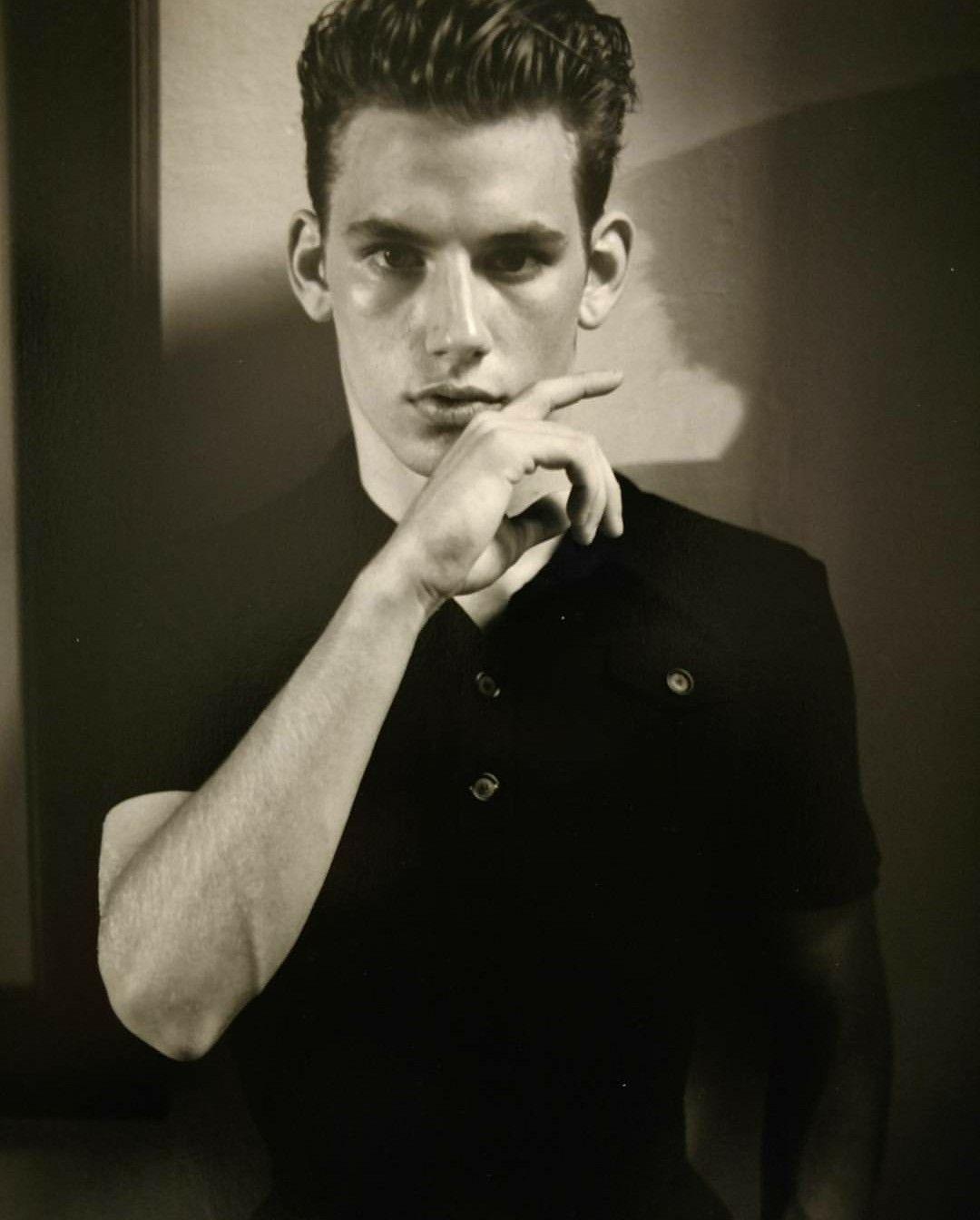 Ryan Haywood Old Modeling Photo From His Modeling Portfolio Rtahlp