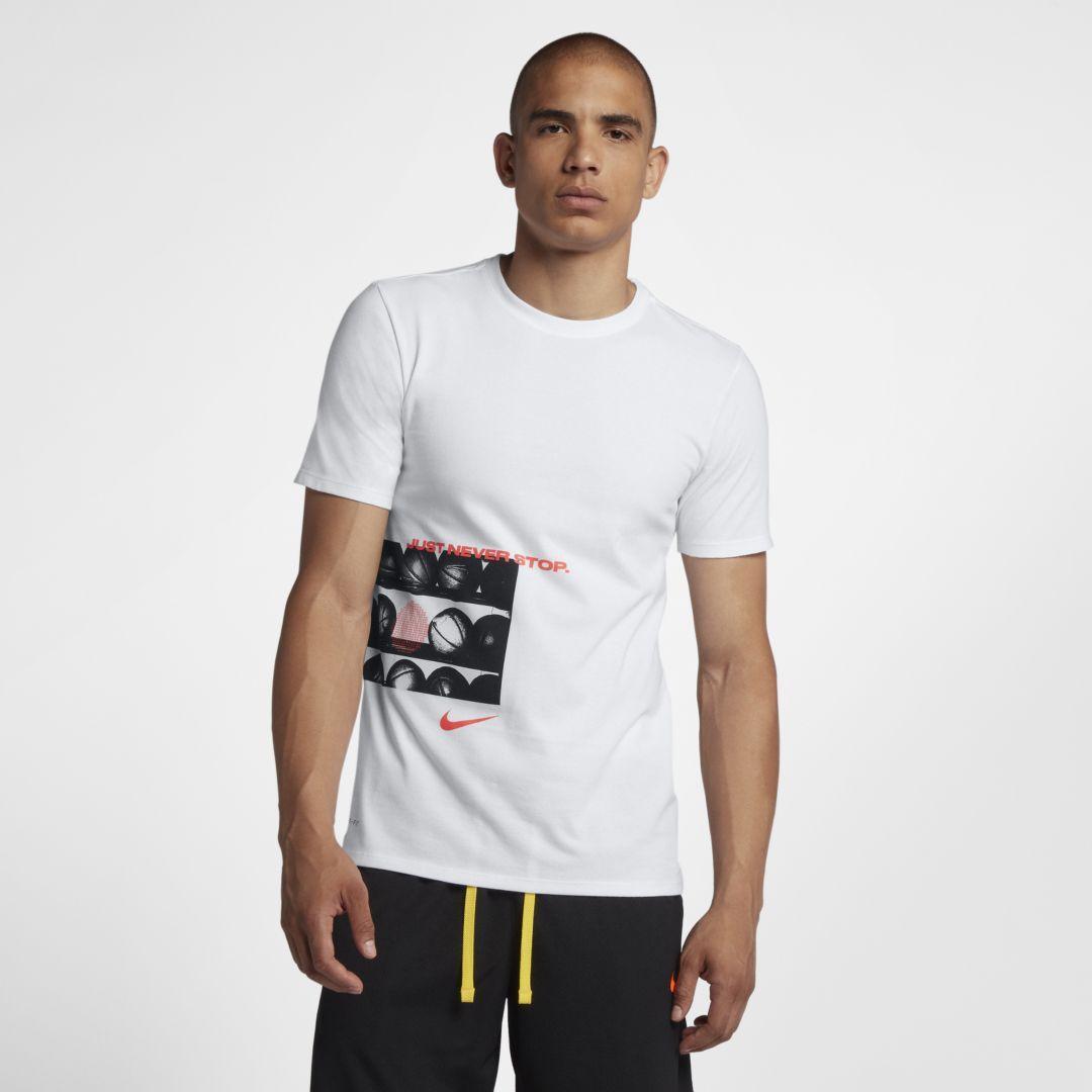 34c5bbda81a0 Nike Dri-FIT Men s Basketball T-Shirt Size 3XL (White)