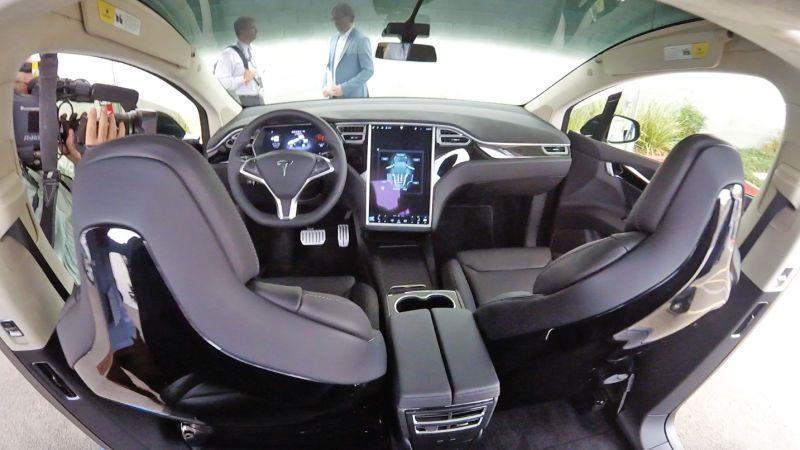 Luxury Vehicle: What It's Like To Drive The Tesla Model X