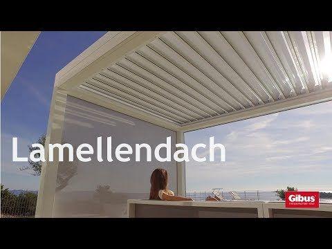 Lamellendächer von Gibus - die exklusive Terrassenüberdachung   Pina ...