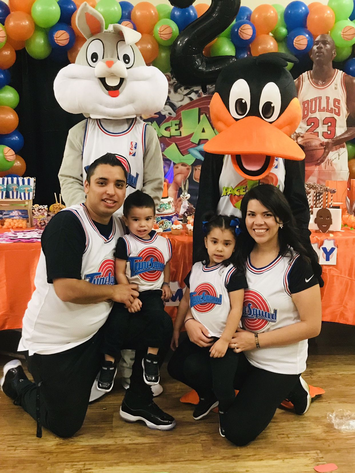 Romeo's 2nd jam   Space jam theme, Looney tunes party, 1st birthday party  themes