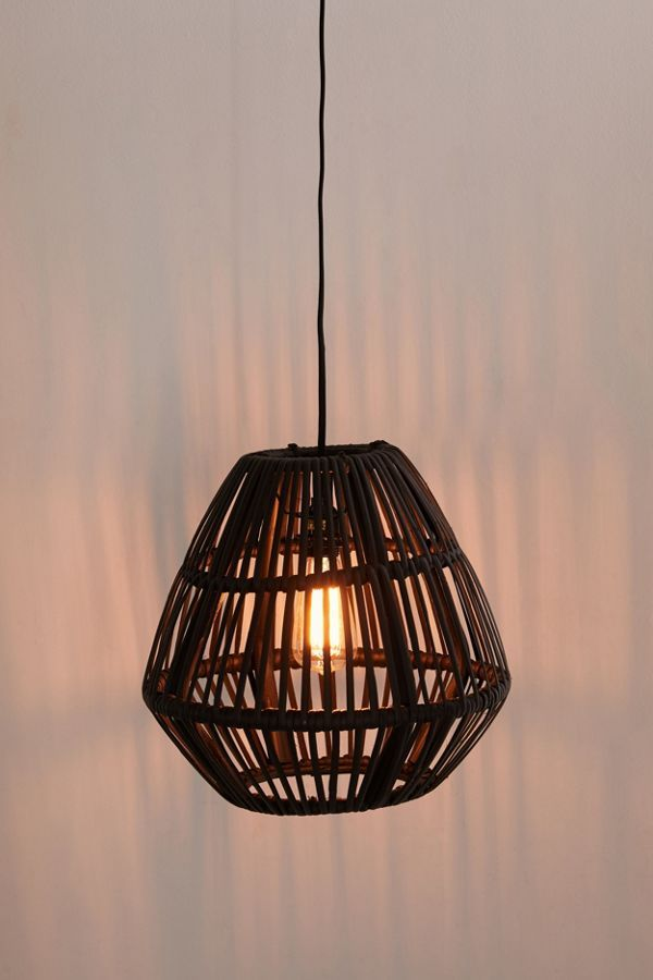 Rattan Ceiling Light Crate And Barrel