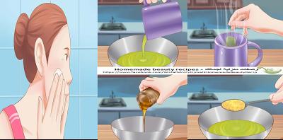 وصفات منزلية لجمالك Homemade Beauty Recipes مقشر الشاي الأخضر و العسل لتنظيف البشرة Easy Meals Recipes Food