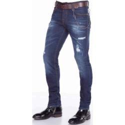 Slim Fit Jeans für Herren #crotchetbraids