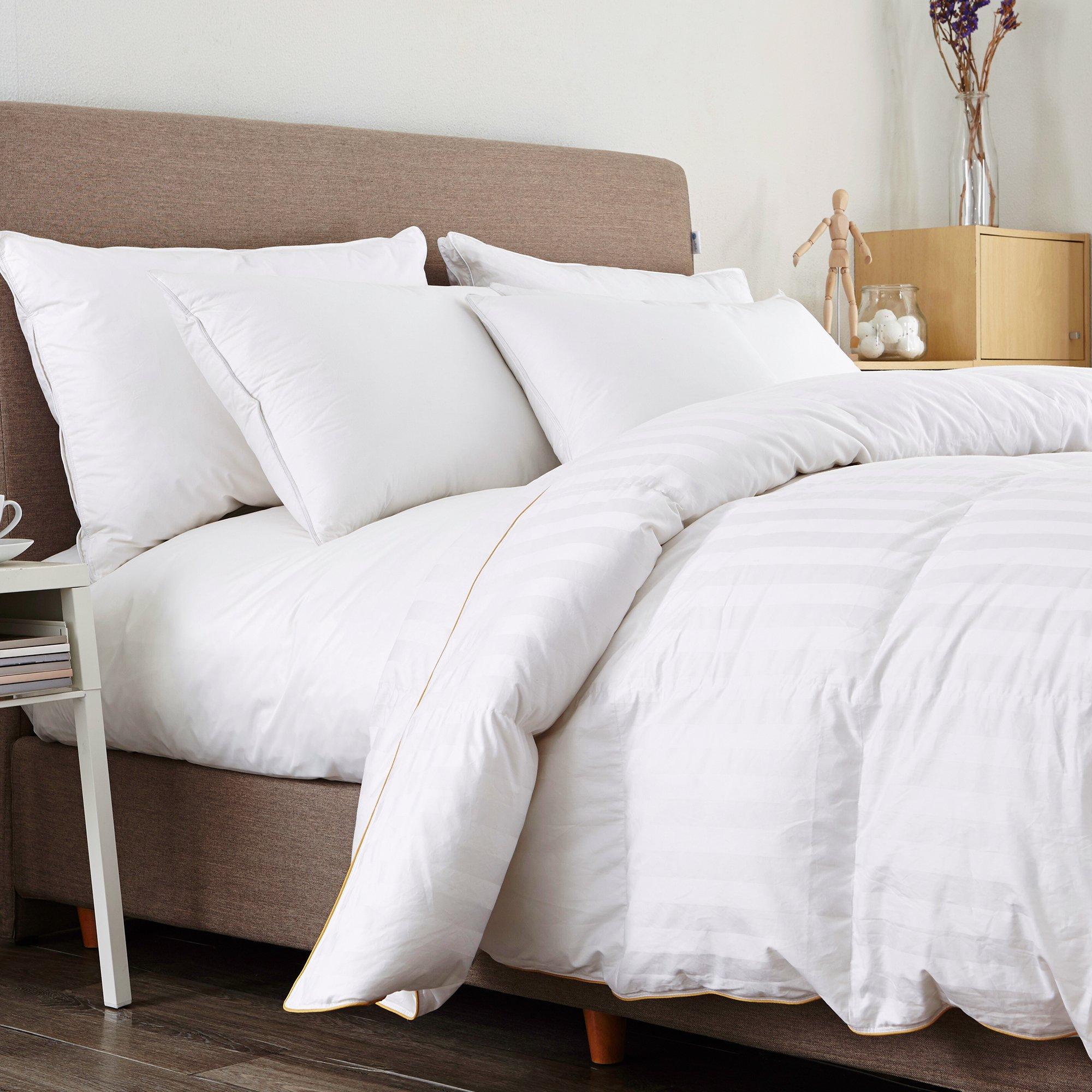 Premium Goose Down Comforter All Seasons 600 FP 500 TC