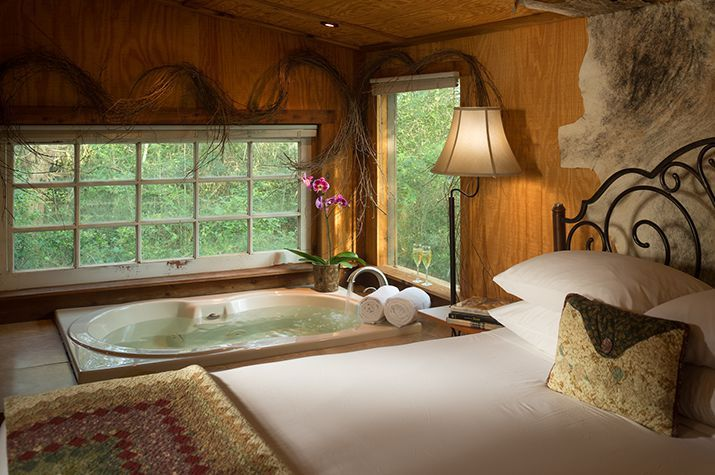 Mosey On Down To Texas For An Unforgettable Stay At This Bed And Breakfast On A Working Ranch Near Houston Romantic Cabin Getaway Cabins Romantic Cabin Getaway