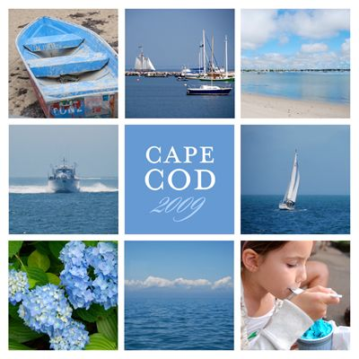 cape cod in blue